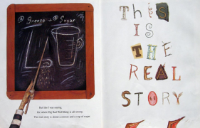 【回味童年 英语原版童书(四十七)】三只小猪的真实故事