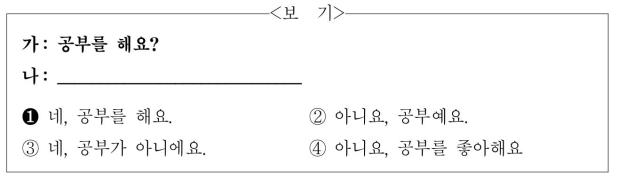 【每日一听】TOPIK初级—11.03听力训练(1)