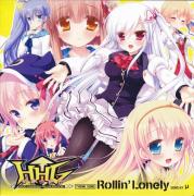 【游戏音乐】HHG 女神の終焉 マキシシングルCD「Rollin' Lonely」/μ(ミュウ)、新田惠海、澤田なつ