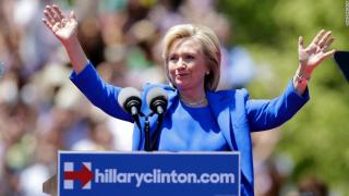希拉里在纽约罗斯福岛首场总统竞选集会发表的演讲【附演讲全文+视频下载】