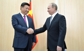 Meeting with President of China Xi Jinping