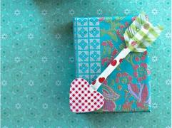 「手工课」の第十八课:爱神之箭创意手工教程