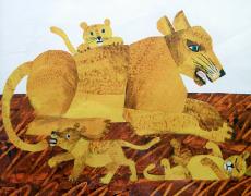 【回味童年 英语原版童书(十七)】袋鼠也有妈妈么