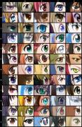 【测试】看好我的眼! 只看眼睛你能认出几个二次元角色?