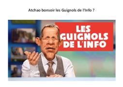 【didi深夜档】第32期 les Guignols de l'Info 这个节目你了解吗?