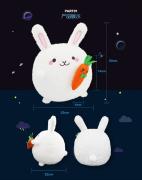【商城礼品】萌宠渣渣兔公仔