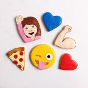 当emoji表情被做成饼干(撸主的险恶用心在最后←_←