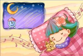 【清凉一夏】向右睡,我的心在左边——微笑入梦