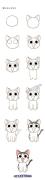 #画一画#【教程】第五十六期  甜甜起司猫