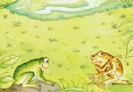 【每日一译】二匹の蛙—新美南吉 ⑤ 2015-08-23