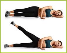 【图文版】5步基础减肥操,让你瘦腿又提臀!