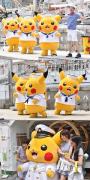 """【满大街的皮卡丘】横滨一年一度的""""野生皮卡丘大量乱入节"""""""