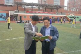 潘绍伟教授指导课题手足双门球课程资源应用报道