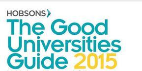 2015澳大利亚优秀大学指南之澳大利亚八大名校排名