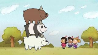 最近很火的小动画《咱们裸熊》