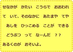 【N5】【猜谜语学单词】071