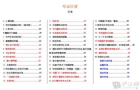 各行业常用专业用语整理汇总[PDF格式]