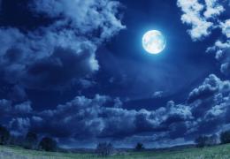 【云朵语录】月华如练,心情在月色中变的清朗而柔软