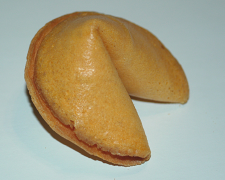 Fortune Cookie, aka 幸运签语饼, Chinese or American?饮食文化篇01
