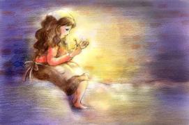 日语童话--卖火柴的小姑娘(4)