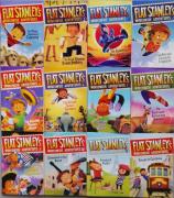 【英文原版初章】Flat Stanley's Worldwide Adventures 系列 (共12册 电子书+音频)