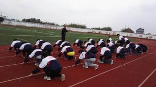 如东县2015年度初中体育教师优课评比在新光初中举行