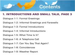 课程回顾:日常美式对话30天 1-1