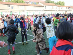 昆山市新镇中心校举办足球课堂教学培训活动