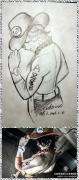【One Piece绘画大赛】路飞,艾斯,萨博+codomo+(非)原创
