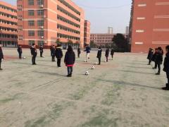 泗阳县举行足球特色大课间和足球微课教学评比活动