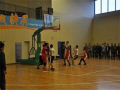 高港区举办首届教育系统教职工男子篮球比赛
