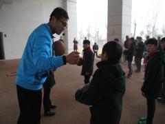 宿迁市举行小学体育教学研讨会