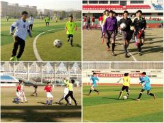 淮安市校园足球争霸赛顺利举行