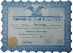 催眠治疗师认证工作坊         ---NGH暨TAH催眠认证师课程