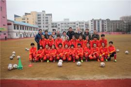 德中青少年足球交流与促进协会专家团来海门指导校园足球