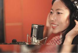 【沪江专访】肖新坤——通过沪江自学音乐的才女