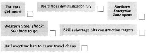 每期学一点○商务词汇:Summary Test 1 (2/2)