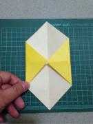 「手工课」の第一百零六课:彩色折纸灯笼DIY教程