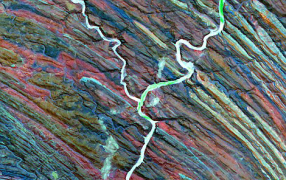 【自然事纪】美专家卫星影像收集完整字母表