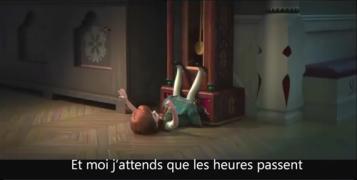 【冰雪奇缘1】法语版歌曲视频下载(带字幕)