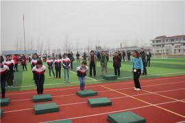 南通海门市举行初中体育教研活动暨2016年体育中考培训