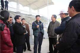 江苏省、南通市体育局领导调研指导海门市校园足球