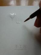 「手工课」の第一百零九课:牛奶焦糖字体DIY教程