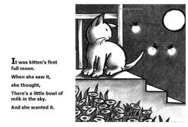 【糖豆妈绘本推荐】Kitten's First Full Moon《小猫咪追月亮》