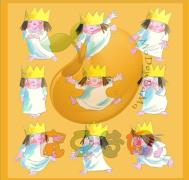 【糖豆妈模板下载】小公主绘本配套游戏模板萌化你的心灵---快来下载吧!绘本玩起来!