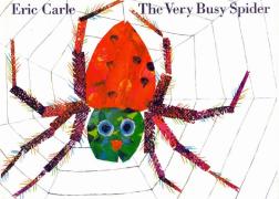 【糖豆妈绘本推荐】卡尔爷爷系列启蒙绘本--The Very Busy Spider 好忙的蜘蛛