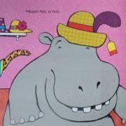 【糖豆妈绘本推荐】衣服单词巩固--快来读HIPPO HAS A HAT吧~