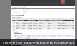 ACCA考试收据凭证和费用清单可直接在官网打印啦!