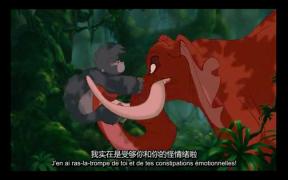 【Taufik法语影视分享】《Tarzan 泰山》法语音轨 中法双语字幕