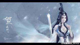 & 闲情居 & 分享古风图:美女与长剑
